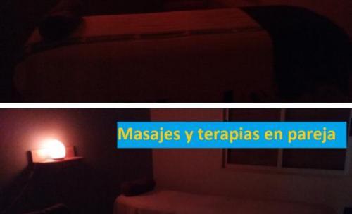 Una de las salas: aptas para terapias individuales y en pareja
